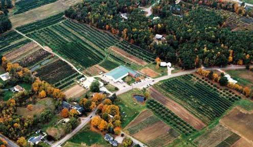 Sunnycrest Farms Londonderry, New Hampshire aerial photo by LondonderryNH.net