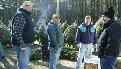 Londonderry Lions sell Christmas Trees to raise funds for Londonderry