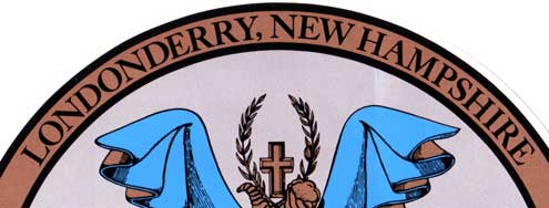 Londonderry, New Hampshire Town Seal top
