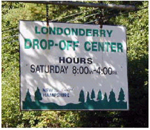Londonderry Drop Off Center