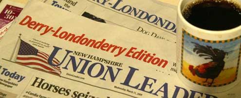 Derry-Londonderry Edition of the New Hampshire Union Leader