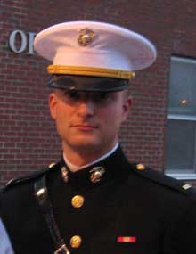 College Graduate Receives Commission in Marine Corps ...