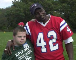 Former New England Patriots player, Ronnie Lippett