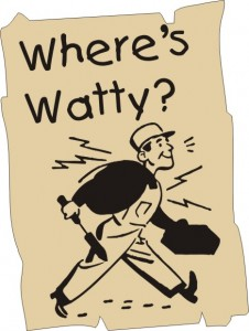 Where's Watty Poster from a time before today December 2008