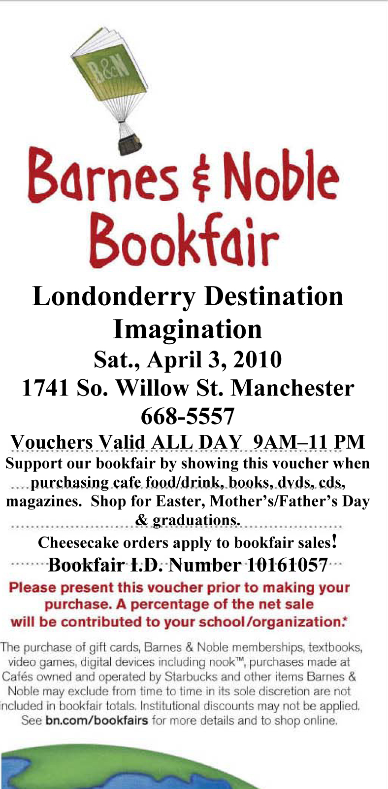 DI Bookfair at Barnes & Noble – Londonderry News