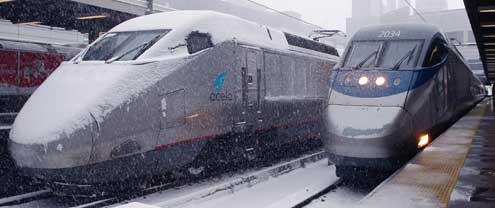 amtrak acela solution Source: amtrak acela express the locomotive car on amtrak's new high- speed train has the same elongated nose of the french train grande vitesse (tgv ), from which amtrak adopted propulsion technology.