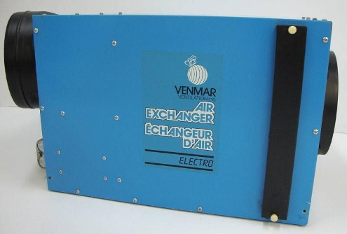 venmar air exchanger how to use
