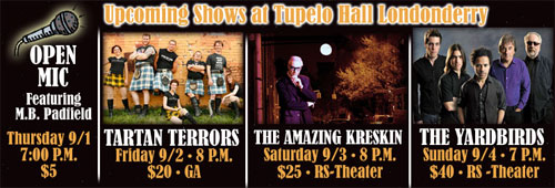 Tupelo 2011 Labor Day Shows