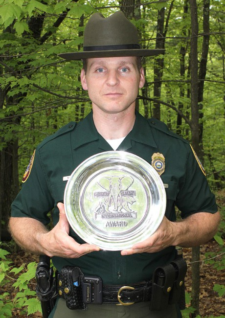 Fish and game honors three for dedication and service for Nh fish game