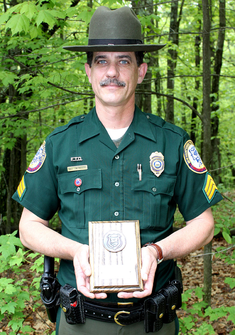 Conservation officer mark ober jr londonderry news for Fish and game