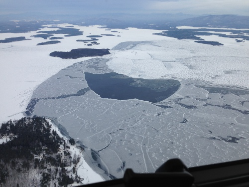 Officials warn of unsafe ice conditions londonderry news for Lake meredith fishing report