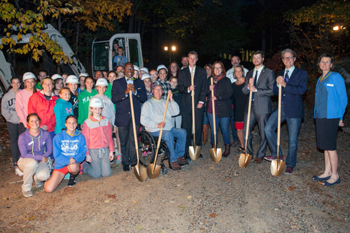 News Teen Center Ground Breaking 96