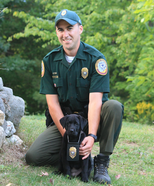 Fish And Game Officials Get New K9 Trainee Londonderry News